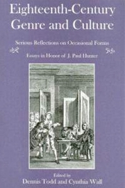Eighteenth-Century Genre and Culture: Serious Reflections on Occasional Forms