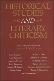 Historical Studies and Literary Criticism