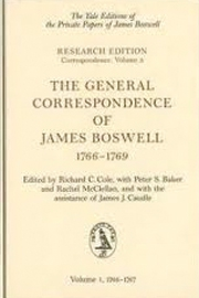 The Correspondence of James Boswell with David Garrick, Edmund Burke, and Edmond Malone