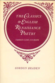 The Classics and English Renaissance Poetry