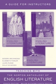 Teaching with the Norton Anthology of English Literature