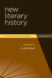 In the Mood: Special Issue of New Literary History