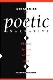 Strategies of Poetic Narrative