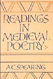 Readings in Medieval Poetry