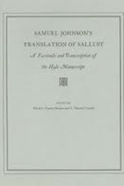 Samuel Johnson's Translation of Sallust