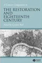 Concise Companion to the Restoration and the Eighteenth Century